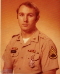 Military Police Customs picture taken at Stuttgart, Germany in 1975 when I was an MP Staff Sergeant R. Busby